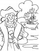 Columbus in dilemma what to do coloring page