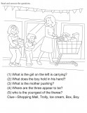 Download english activity worksheet Fill in the blanks