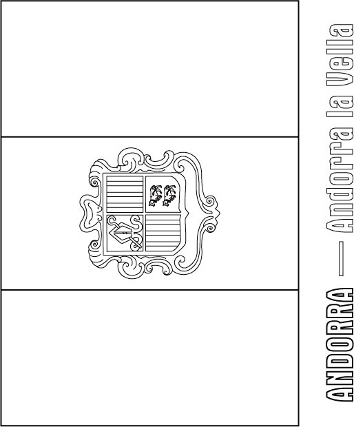 coloring pages flags spain - photo#23