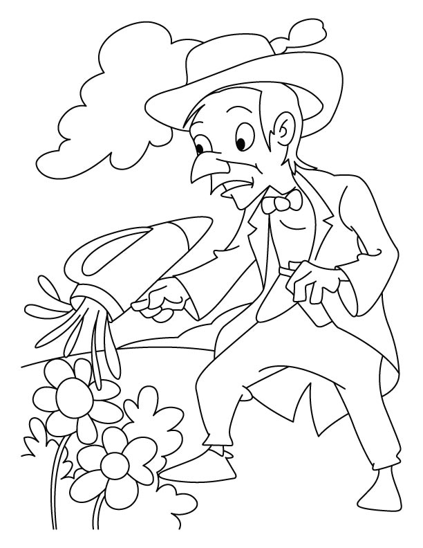International arbor day coloring pages