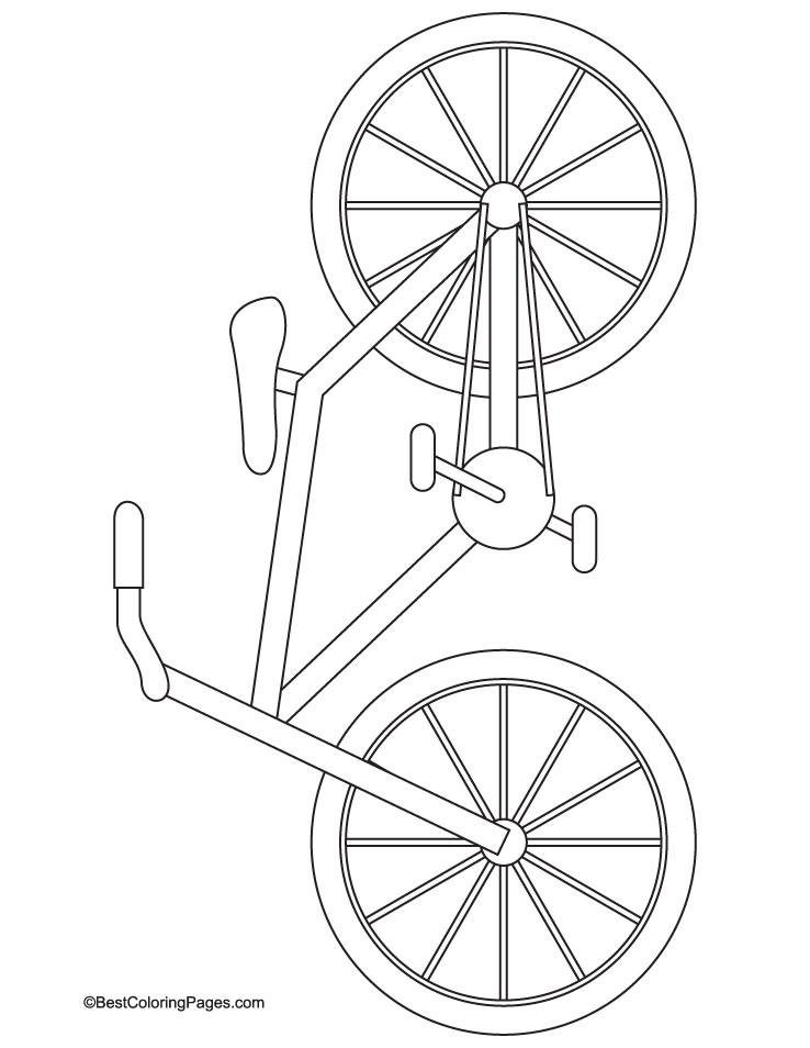 Street bike coloring page download free street bike for Coloring pages bikes