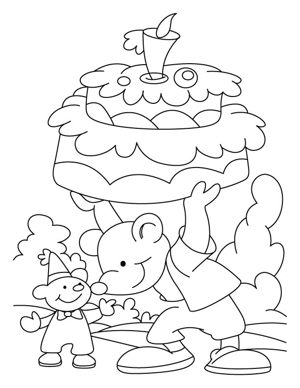 Birthday coloring pages | Download Free Birthday coloring ...