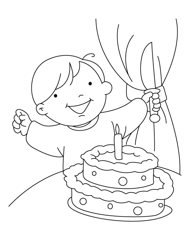 Birthday Celebrations Coloring Pages Download Free Celebration Coloring Pages
