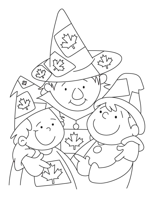 We live together with great harmony coloring pages