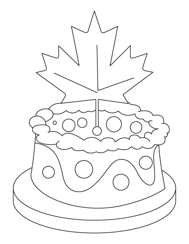 Canadian nationalism is a powerful reality coloring page