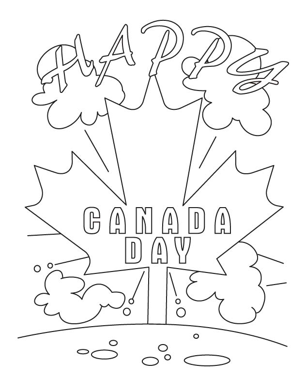 Welcome to the country of Maples coloring pages