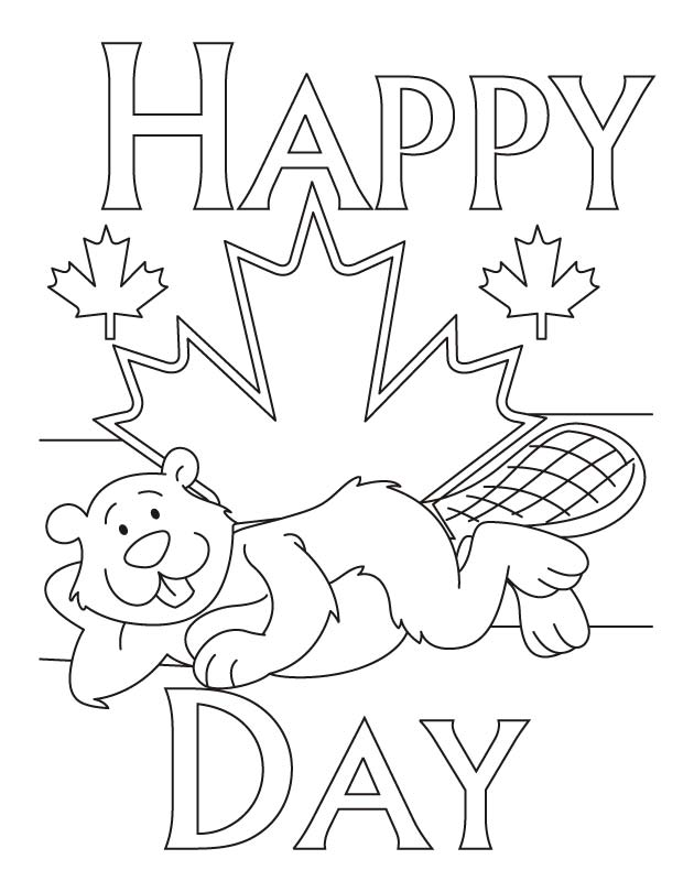 Most comfortable place to live in Canada coloring pages