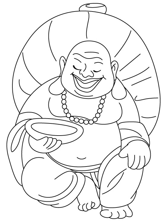 coloring pages buddah - photo#45