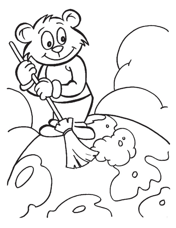earth day coloring pages kindergarten. Earth Day coloring page