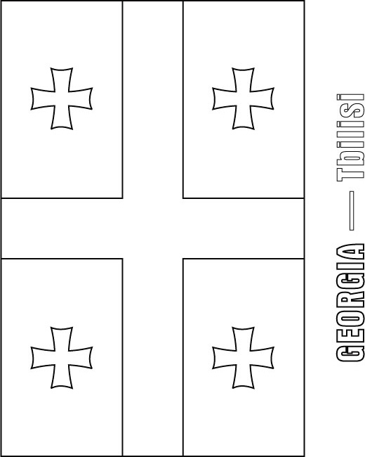 papal flag coloring pages - photo#26