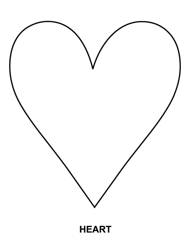 Heart coloring page   Download Free Heart coloring page ...