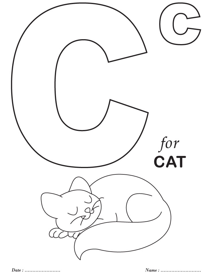 Printables Alphabet C Coloring Sheets | Download Free Printables ...
