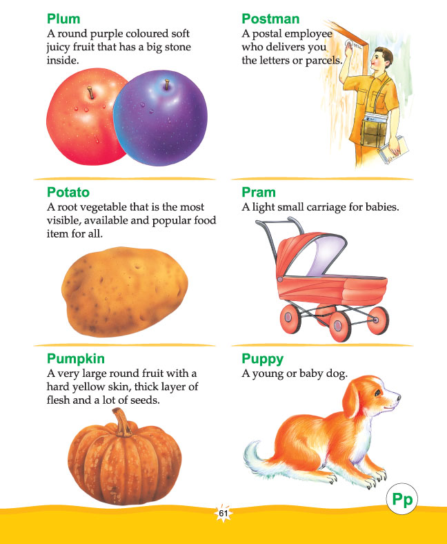 Printable Picture Dictionary Alphabet P_1d3295 on Free Printable Alphabet Worksheets A Z