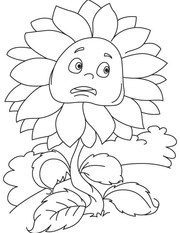 scared coloring pages - photo#30