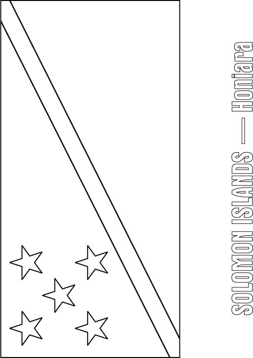 fiji flag coloring pages - photo#21