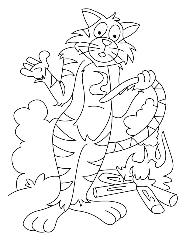 Tigers coloring pages | Free Coloring Pages | 792x612