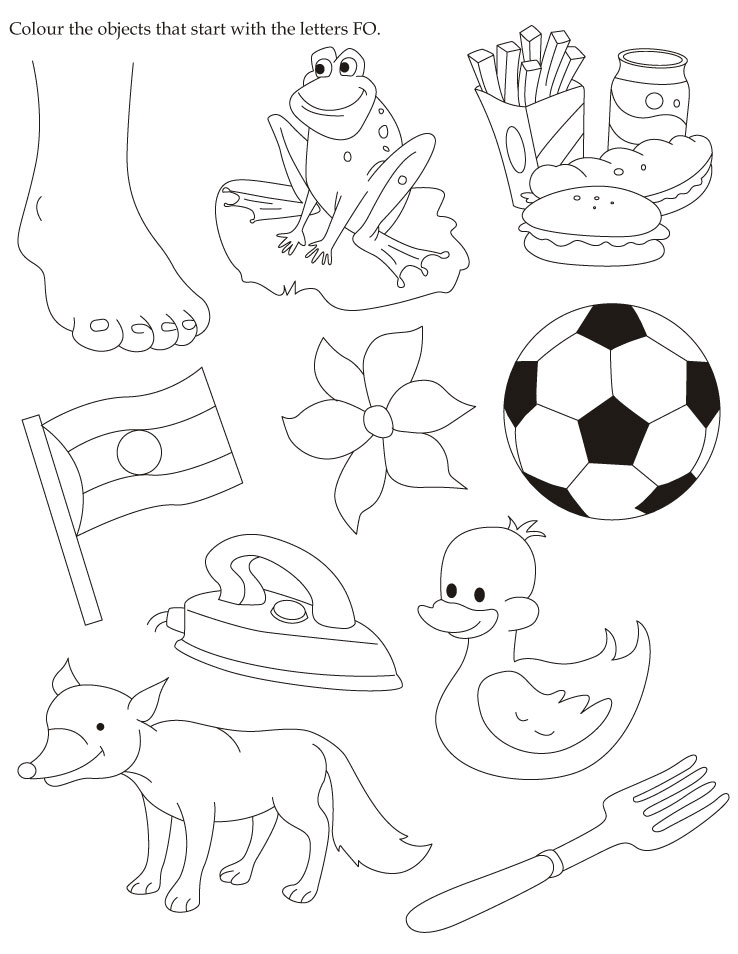 Colouring Pages For Ukg : Ukg english worksheets free download spelling words